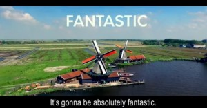 The hilarious 'Netherlands Second!' clip (click on the picture). Is self-mocking irony typically Dutch?