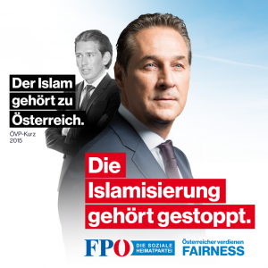 FPÖ campaign poster